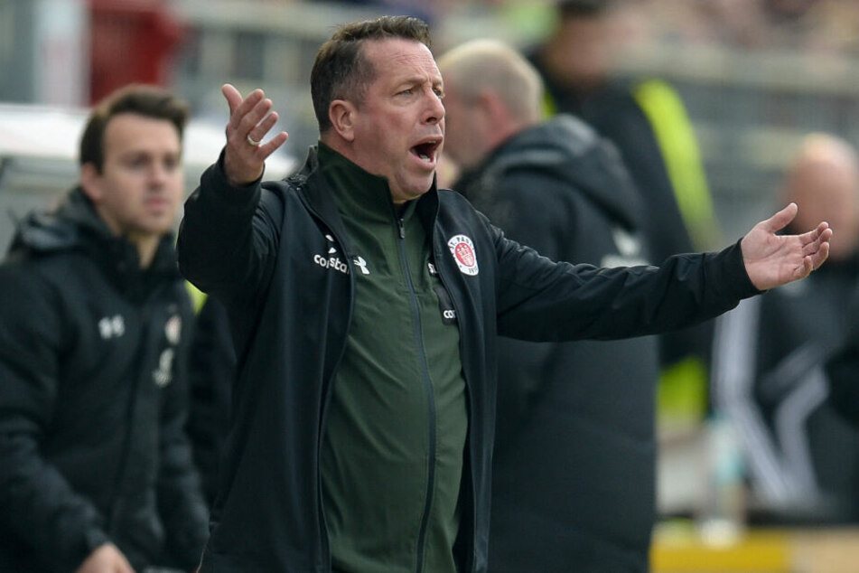Trainer Markus Kauczinski hatte in der Länderspielpause viel mit seiner Mannschaft zu besprechen.
