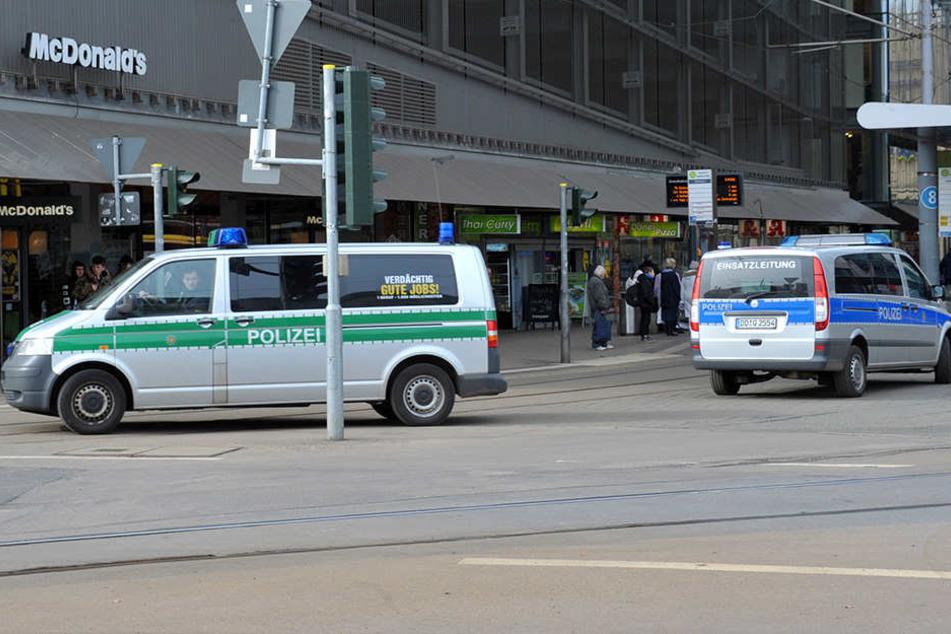 Die Polizei hat ihre Präsenz an der Zentralhaltestelle bereits erhöht.