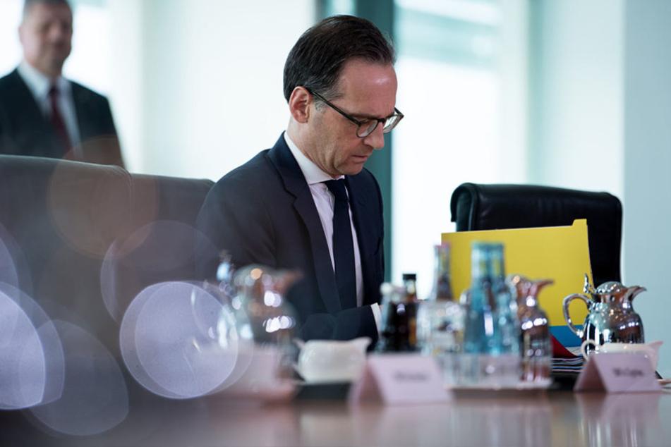 Heiko Maas legte am Mittwoch einen Entwurf zur Entschädigung von verfolgten Homosexuellen vor.