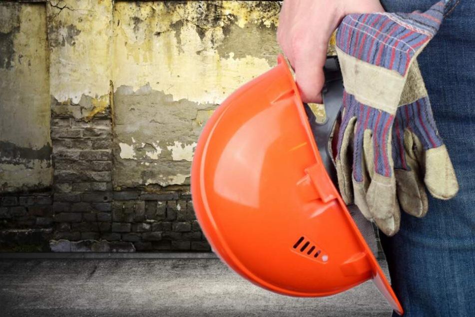 Tödlicher Unfall wegen des Sturms? Bauarbeiter wird von Mauer erschlagen