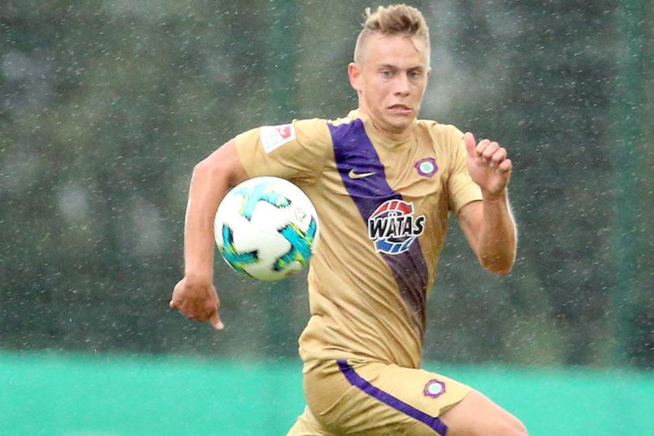 Der 18 Jahre alte Sascha Härtel bekam in Wolfsburg ab der 58. Minute das Vertrauen geschenkt. Der Verteidiger kommt aus der A-Jugend, spielte erstmals bei den Profis mit.
