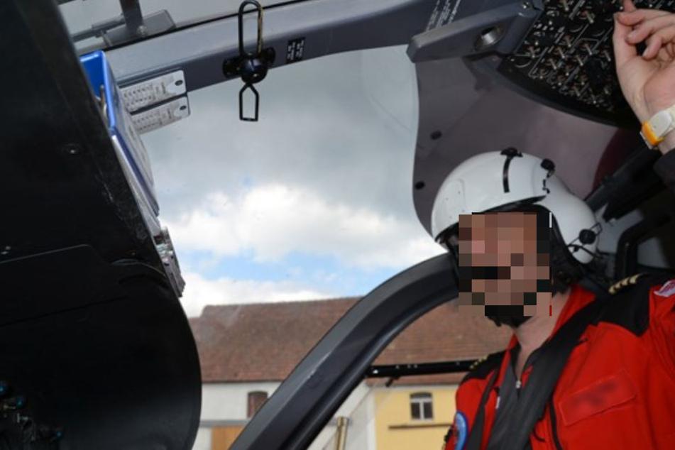 Pilot Jochen H. kam bei dem Absturz am Dienstag ums Leben. Er hinterlässt eine Frau und zwei Söhne.