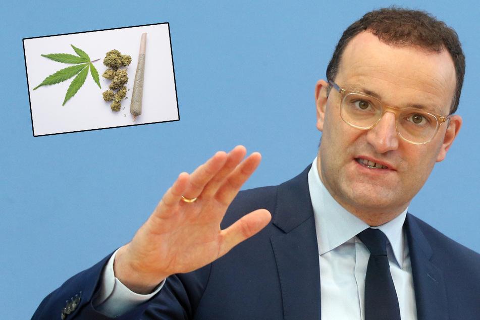 Gesundheitsminister Jens Spahn (41, CDU) ist gegen eine Legalisierung von Cannabis.