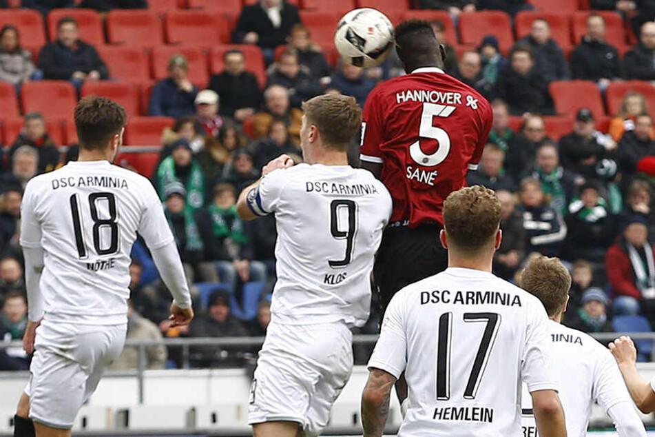 Auch Hannover 96 ist bei dem Turnier zu Gast.