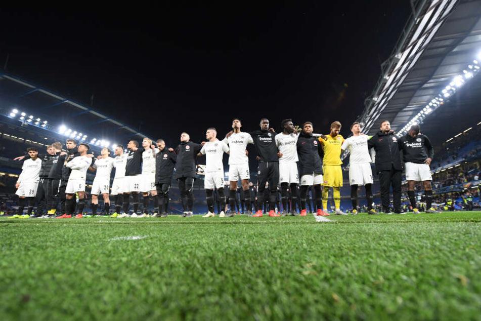 Vor allem in der Europa League begeisterte die Eintracht, schied erst im Halbfinale nach Elfmeterschießen gegen den FC Chelsea aus.