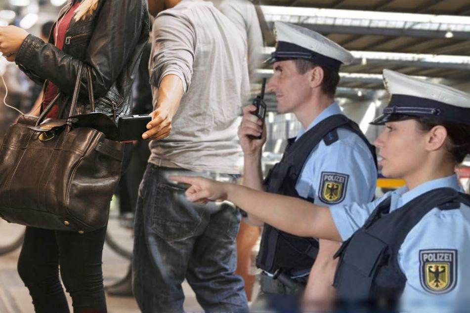 Die Polizei hat am Münchner Hauptbahnhof einen schlechten Taschendieb erwischt.