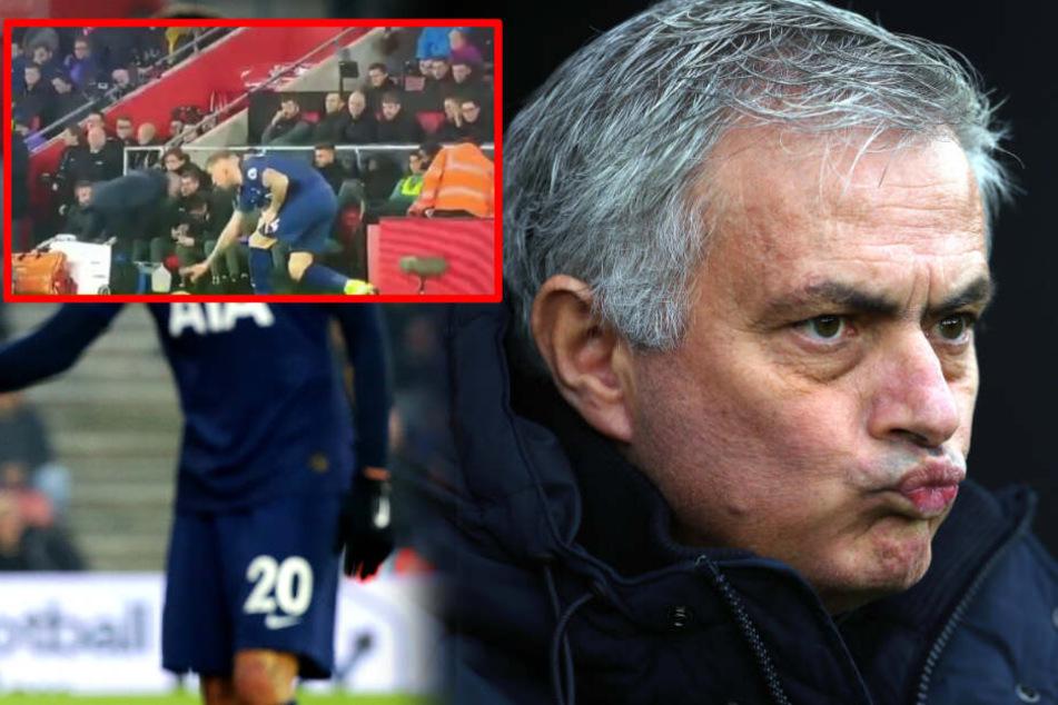 Netz lacht über Mogel-Mourinho: Tottenham-Coach spioniert gegnerische Trainer aus!