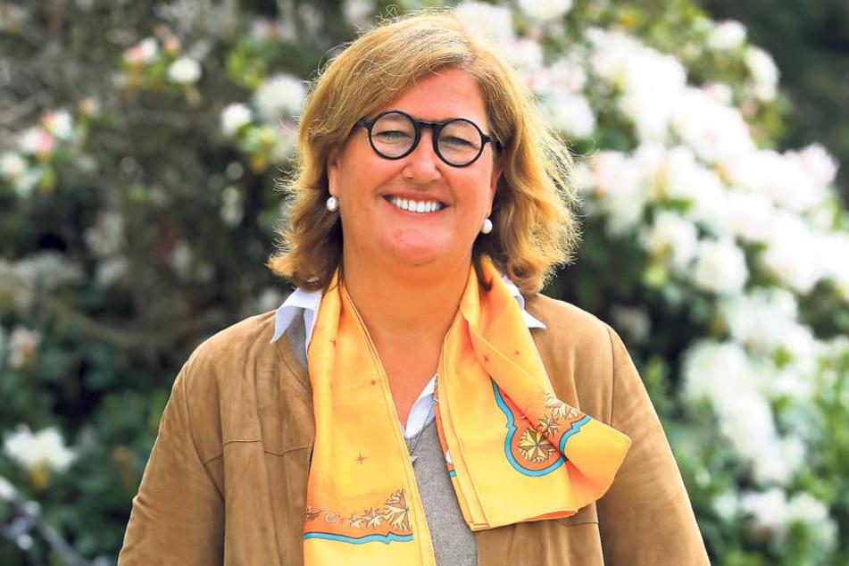 Elisabeth Kreutzkamm-Aumüller (49) geriet in einen Nachbarschaftsstreit, der  sogar die Existenz ihrer Firma bedrohte.
