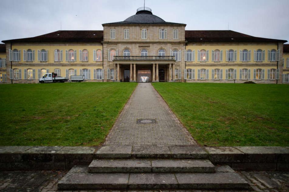 Die Universität Hohenheim.