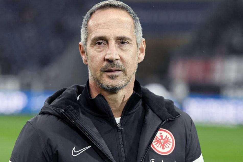 Eintracht Frankfurts Cheftrainer Adi Hütter.