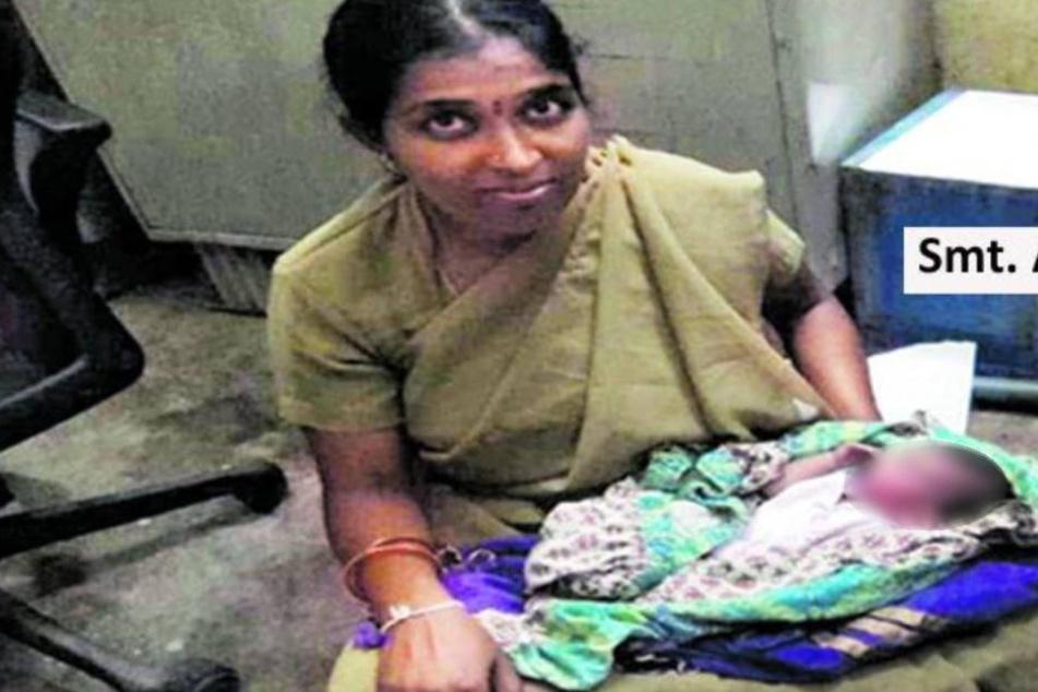 In Plastiktüte einfach entsorgt: Polizistin rettet Baby das Leben