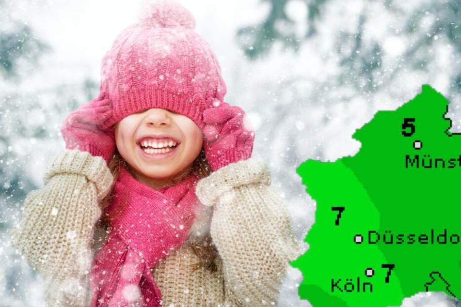 Kaltes Wochenende in OWL: Schnee und Regen in Sicht