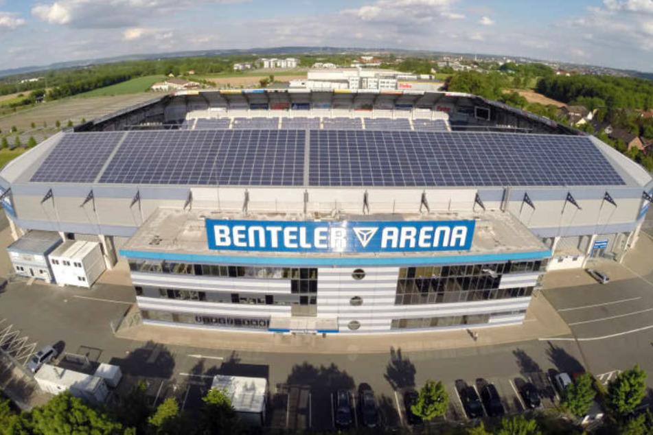 Wenn am Sonntag die Bombe in Paderborn entschärft wird, können evakuierte Bürger in die Benteler-Arena gehen.