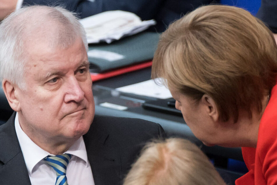 Der Streit zwischen Horst Seehofer (l.) und Angela Merkel drohte die Union zu spalten.