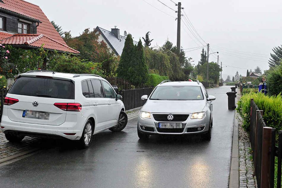 Brennpunkt Bahrebach: Viele Autofahrer nutzen die kleine Siedlung als  Umleitung.