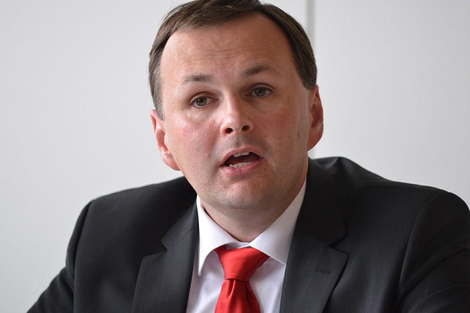 Linken-Chef André Schollbach ist alles andere als begeistert von öffentlicher Werbung der Bundeswehr.