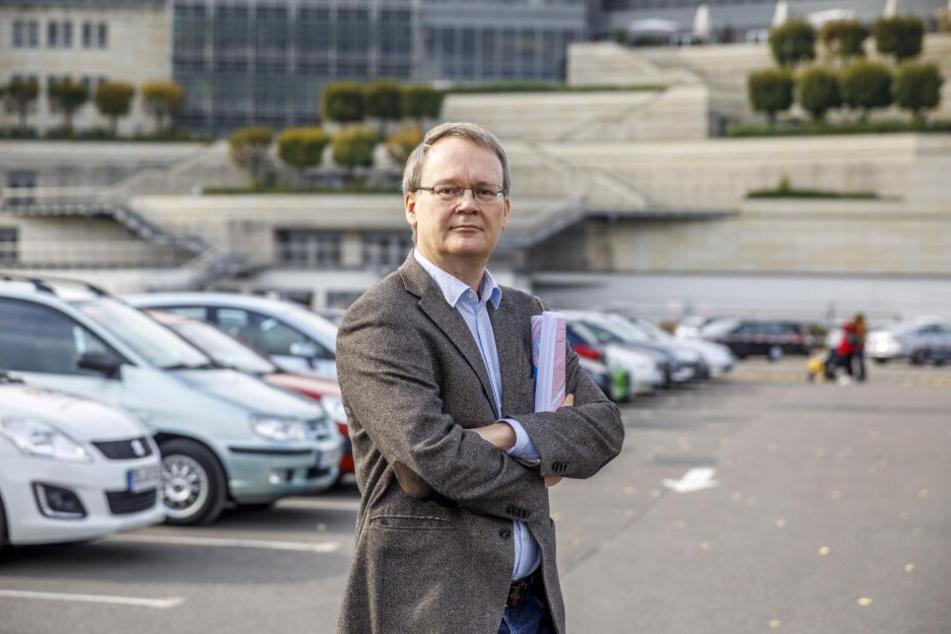 """""""Die Mieten sind bereits spekulativ verzerrt"""": Linken-Stadtrat Tilo Wirtz (51) fordert eine erweiterte Mietpreisbremse."""