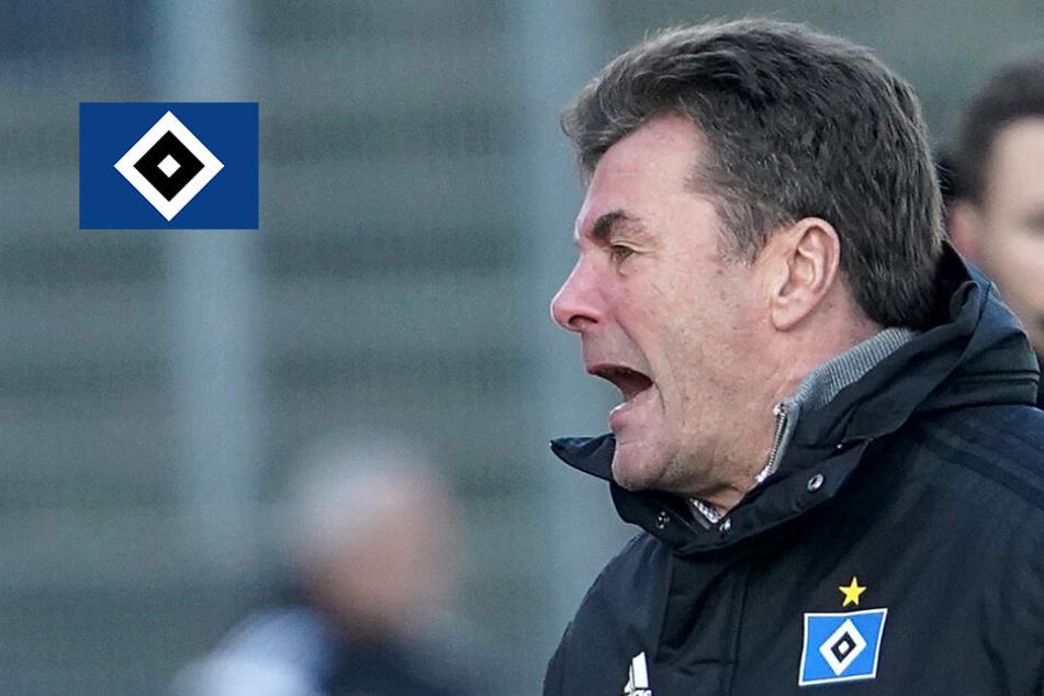 HSV-Trainer Hecking reagiert auf Pleite mit drastischen Worten