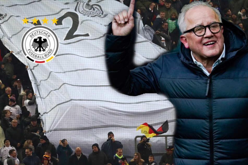 Endlich Stimmung bei DFB-Elf? Präsident Keller führt die Stehplätze wieder ein!