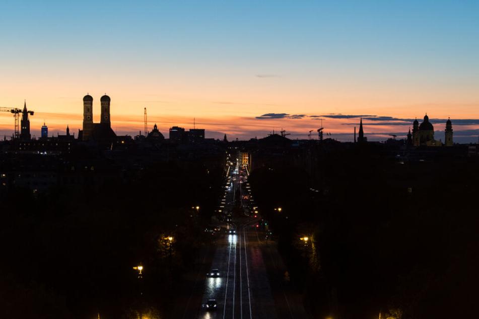 In München kann man sich am Wochenende auf spätsommerliche Temperaturen freuen.