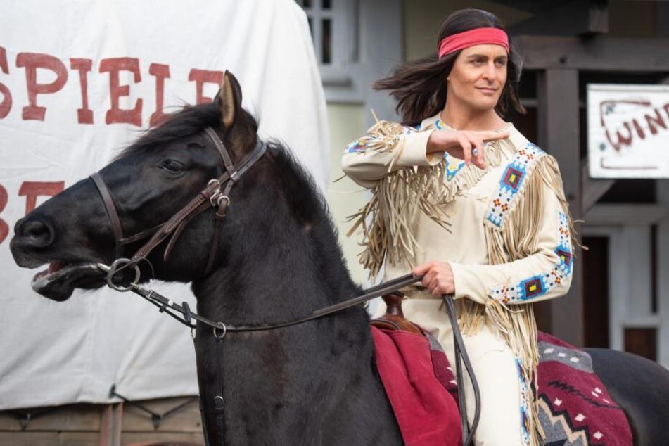 Alexander Klaws liebt die Schauspielerei: Hier als Winnetou bei den Karl-May-Spielen in Bad Segeberg.