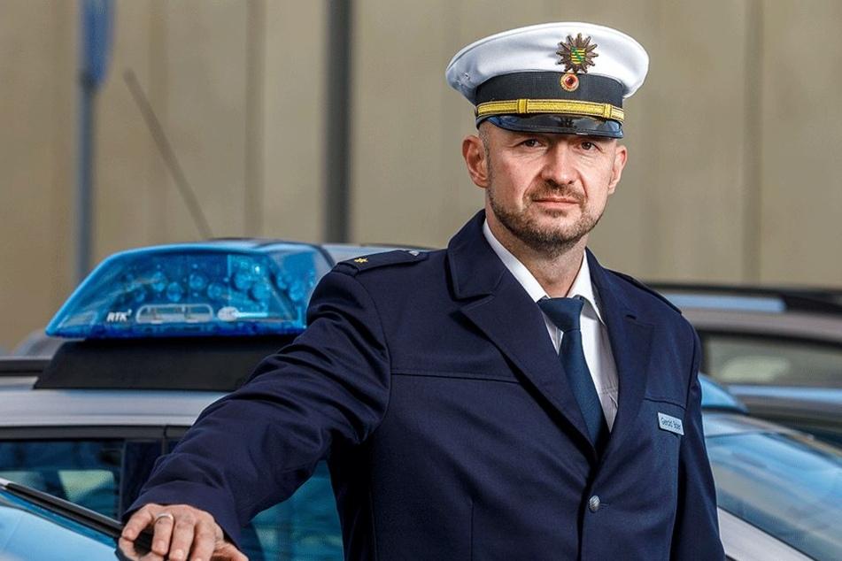 Dresdens neuer Verkehrspolizei-Chef nimmt Handysünder ins Visier