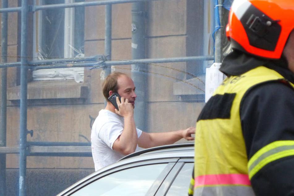 Installateur Michael Kriese hat eine Einjährige aus einer brennenden Wohnung gerettet.