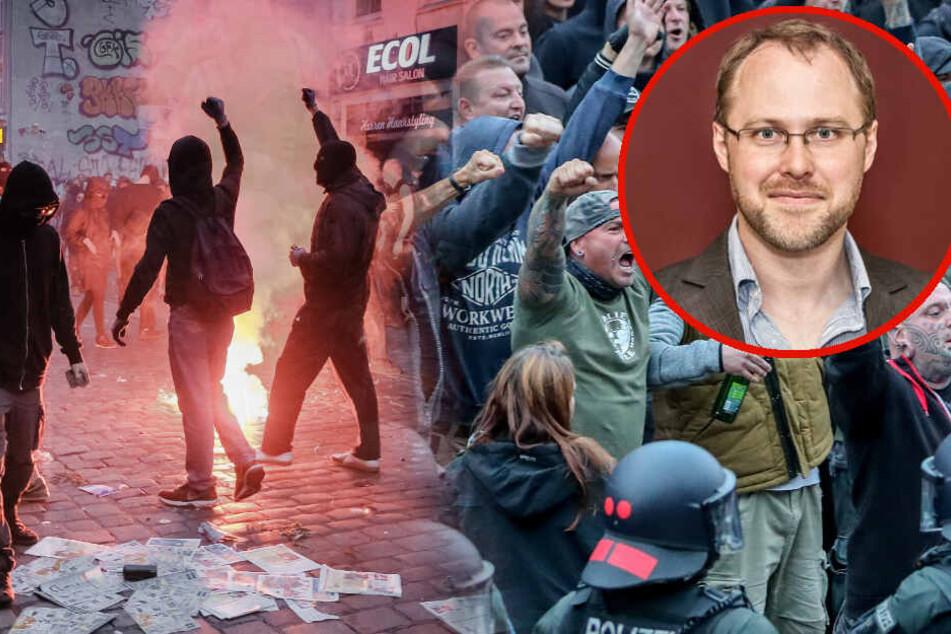 """Politischer Hass in Deutschland: Warum """"Nazis"""" und """"Gutmenschen"""" miteinander reden sollten"""
