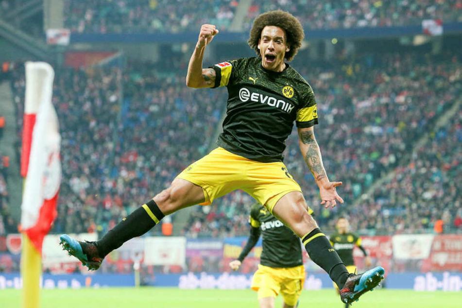 Gab den Ausschlag im Topspiel: Axel Witsel entschied mit seinem Treffer in der 19. Minute die Begegnung.
