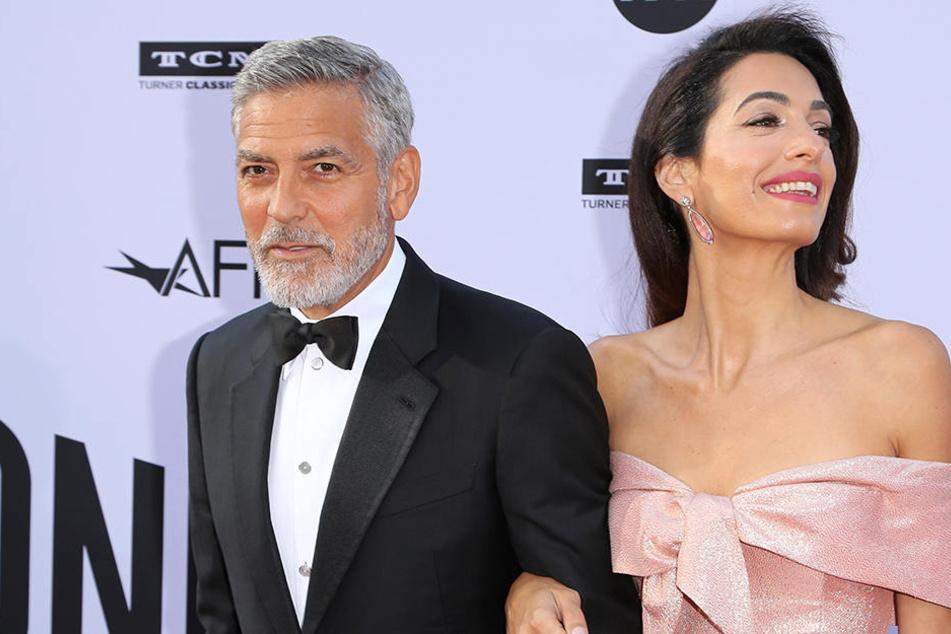 George und Amal Clooney wollen ihrer Zwillinge in guten Händen wissen.