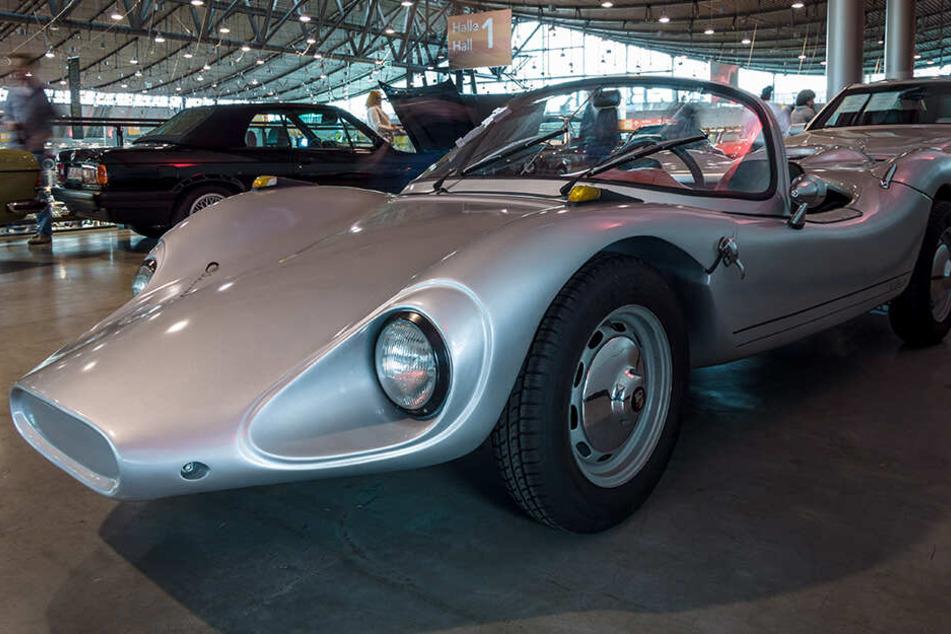 """Der Roadster Colani GT, auf der """"Retro Classics"""", Europas größter Oldtimer-Messe"""