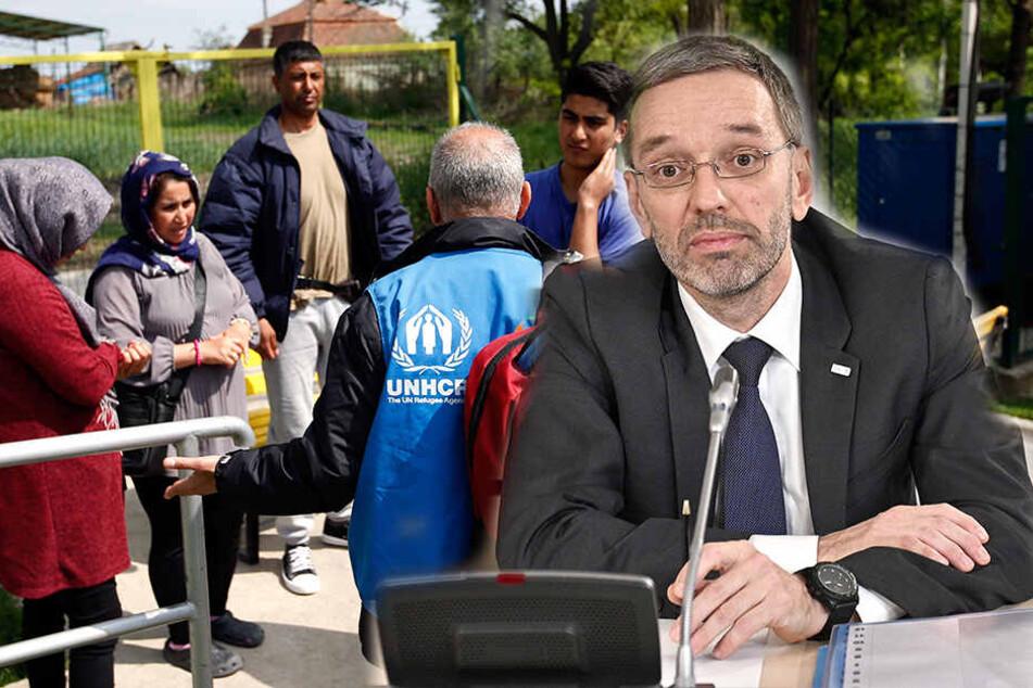 """""""Ziel ist die Null"""": Innenminister will auf Asylanträge verzichten"""