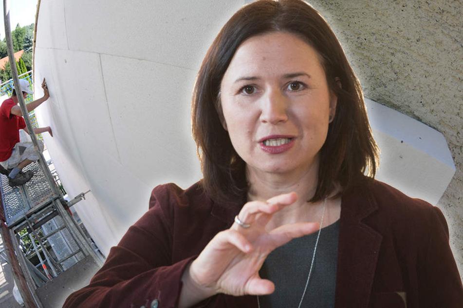 Anja Siegesmund will die Entsorgung von Dämmmaterial erleichtern.