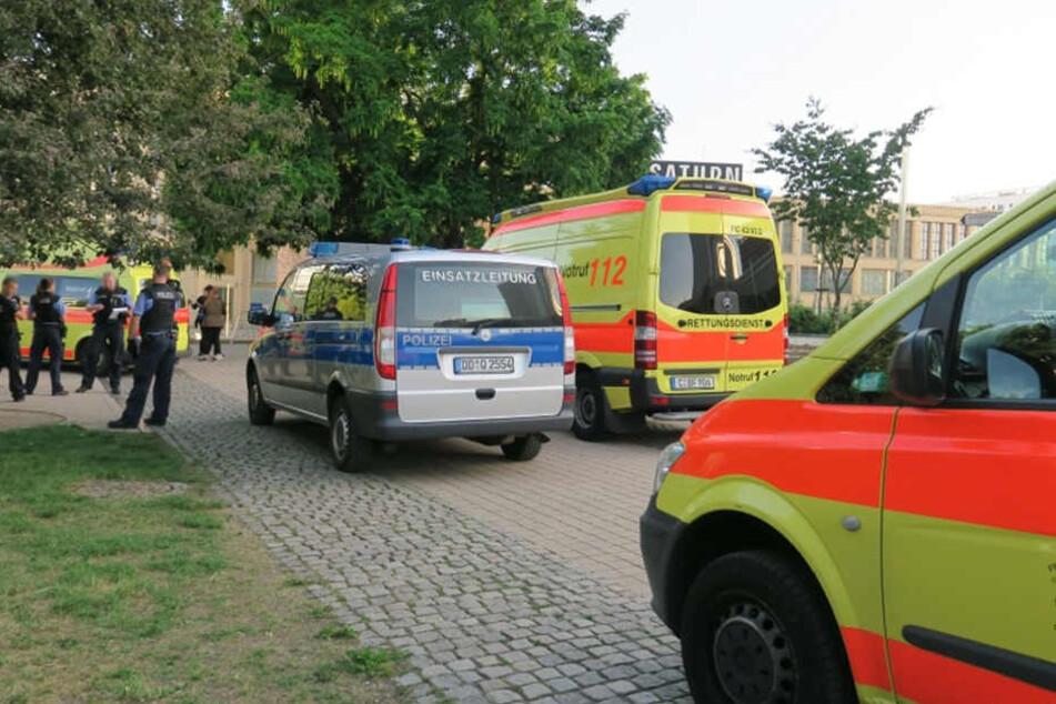 Attacken in der Chemnitzer City: Mehrere Verletzte