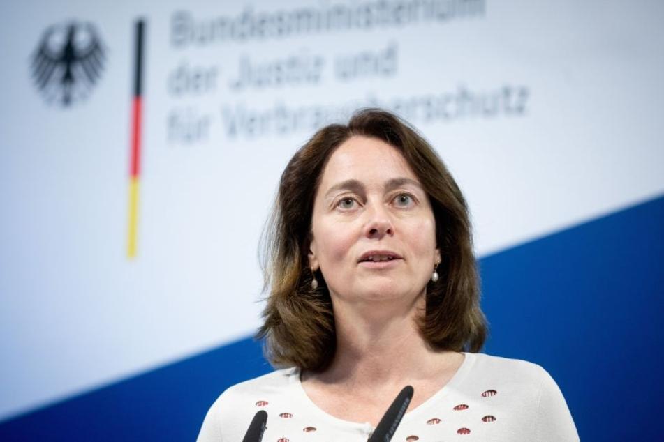 Bundesjustizministerin Katarina Barley (SPD).