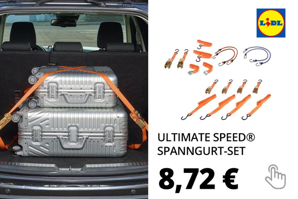 ULTIMATE SPEED® Spanngurt-Set, 8-teilig oder 4-teilig