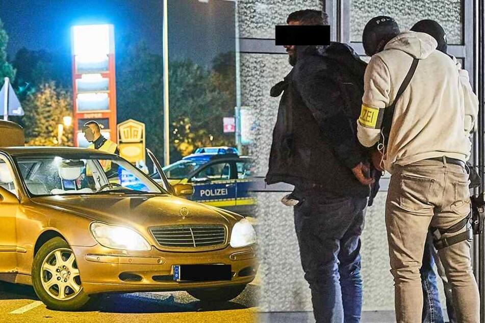 Polizei-Einsatz in Heidenau: Vier Personen festgenommen