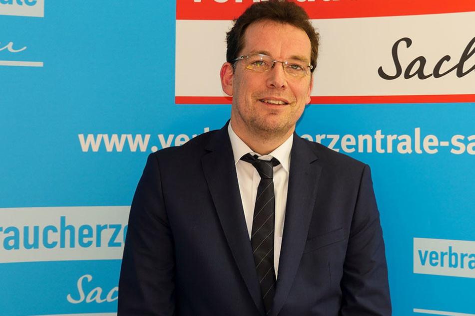 Handelte mit der Sparkasse Bautzen einen Kompromiss für Prämiensparer aus: Verbraucherzentrale-Vorstand Andreas Eichhorst (55).