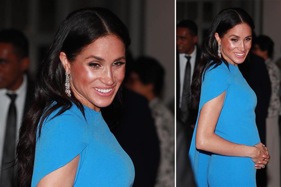 Herzogin Meghan ist im vierten Monat schwanger.