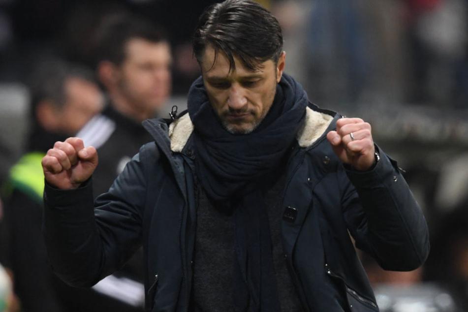 In der Bundesliga läuft es für Niko Kovac und seine Eintracht im Moment rund. Auch Bayern-Coach Heynckes lobte den 46-Jährigen.
