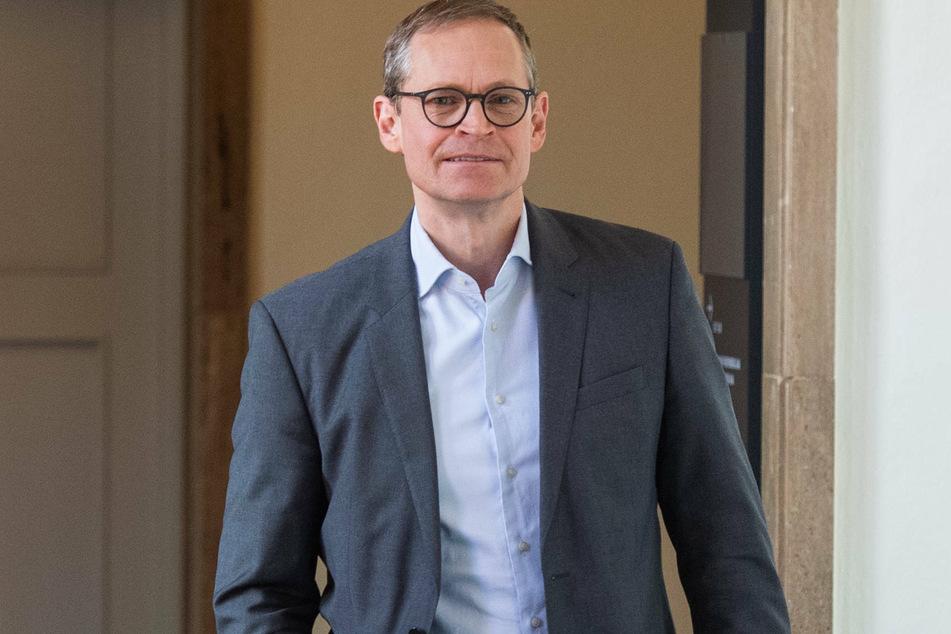Berlins Regierender Bürgermeister Michael Müller (55, SPD)