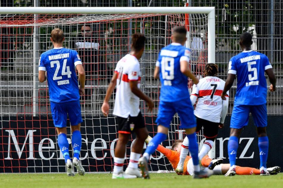 Im Testspiel trennten sich der VfB und Darmstadt am Mittwoch mit einem 1:1-Unentschieden.