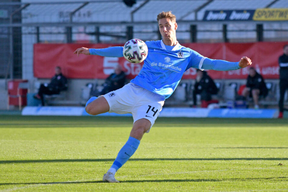 Münchens Dennis Dressel (22) war nicht zu halten.