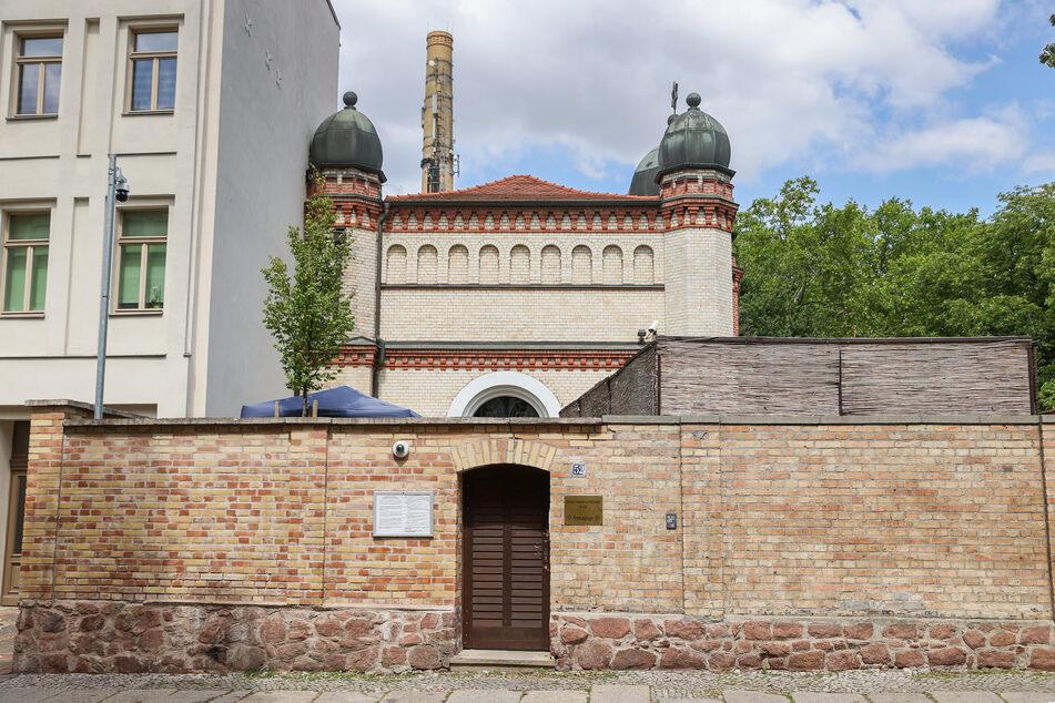 Die Synagoge im Paulusviertel in Halle.