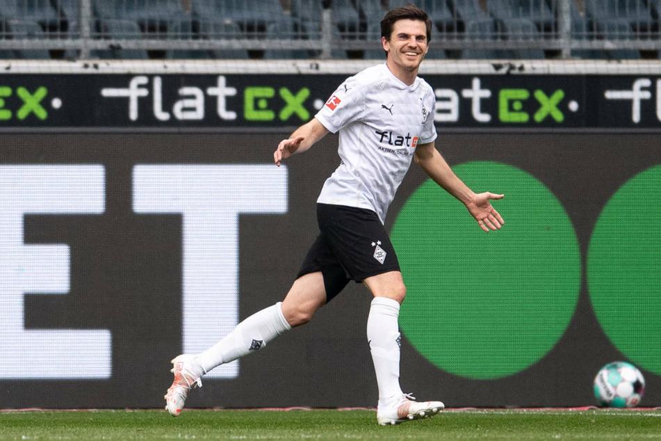 """Mit einem Tor und zwei Assists war Gladbachs Jonas Hofmann """"Man of the Match""""."""
