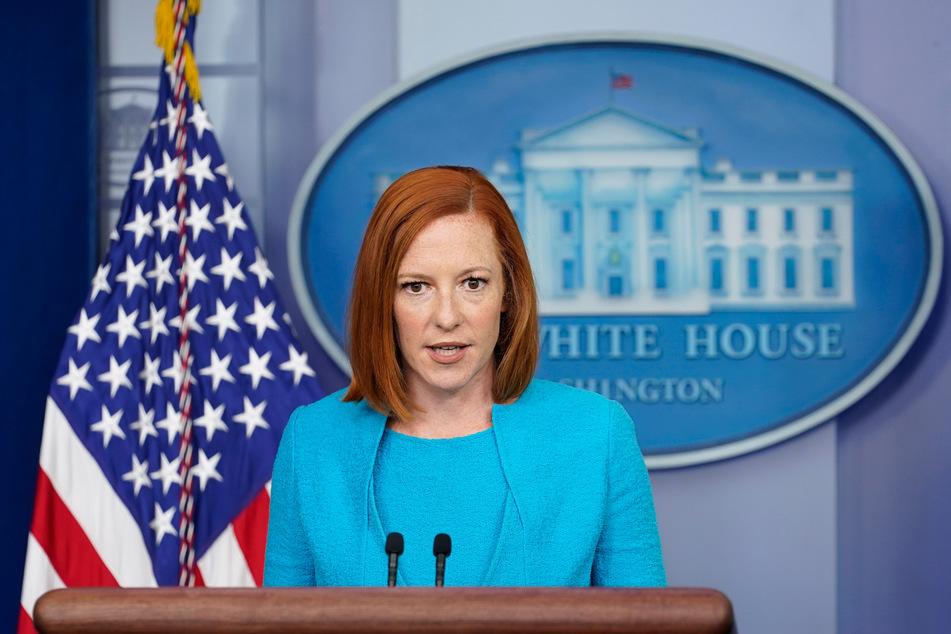 Die Sprecherin des Weißen Hauses: Jen Psaki (42).