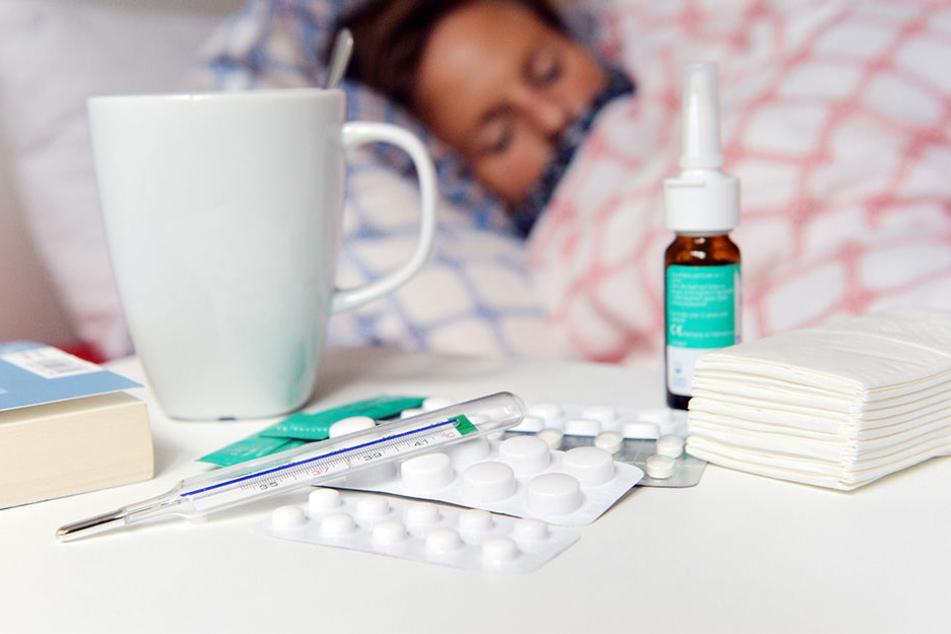 Die jährliche Grippewelle beginnt laut Robert-Koch-Institut meist im Januar.