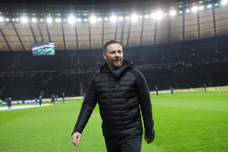 Pal Dardai darf sich auf 'ne volle Hütte freuen. Das Dortmund-Spiel ist ausverkauft!