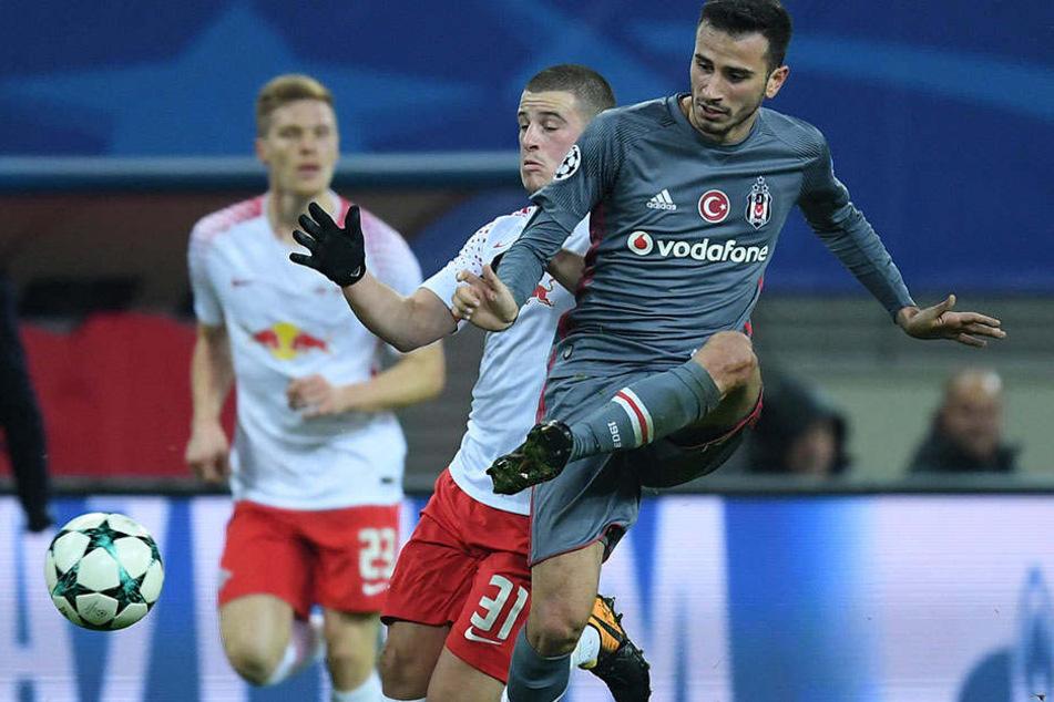 Oguzhan Özyakup im Championsleague-Spiel gegen Leipzig.
