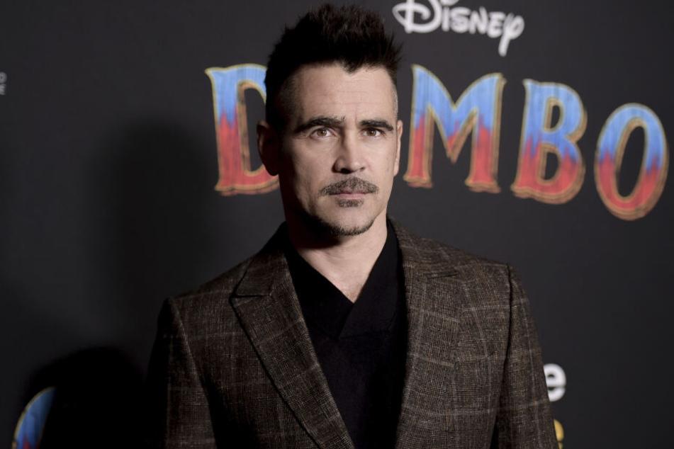 "Colin Farrell (42) in L.A. bei der Premiere von ""Dumbo""."